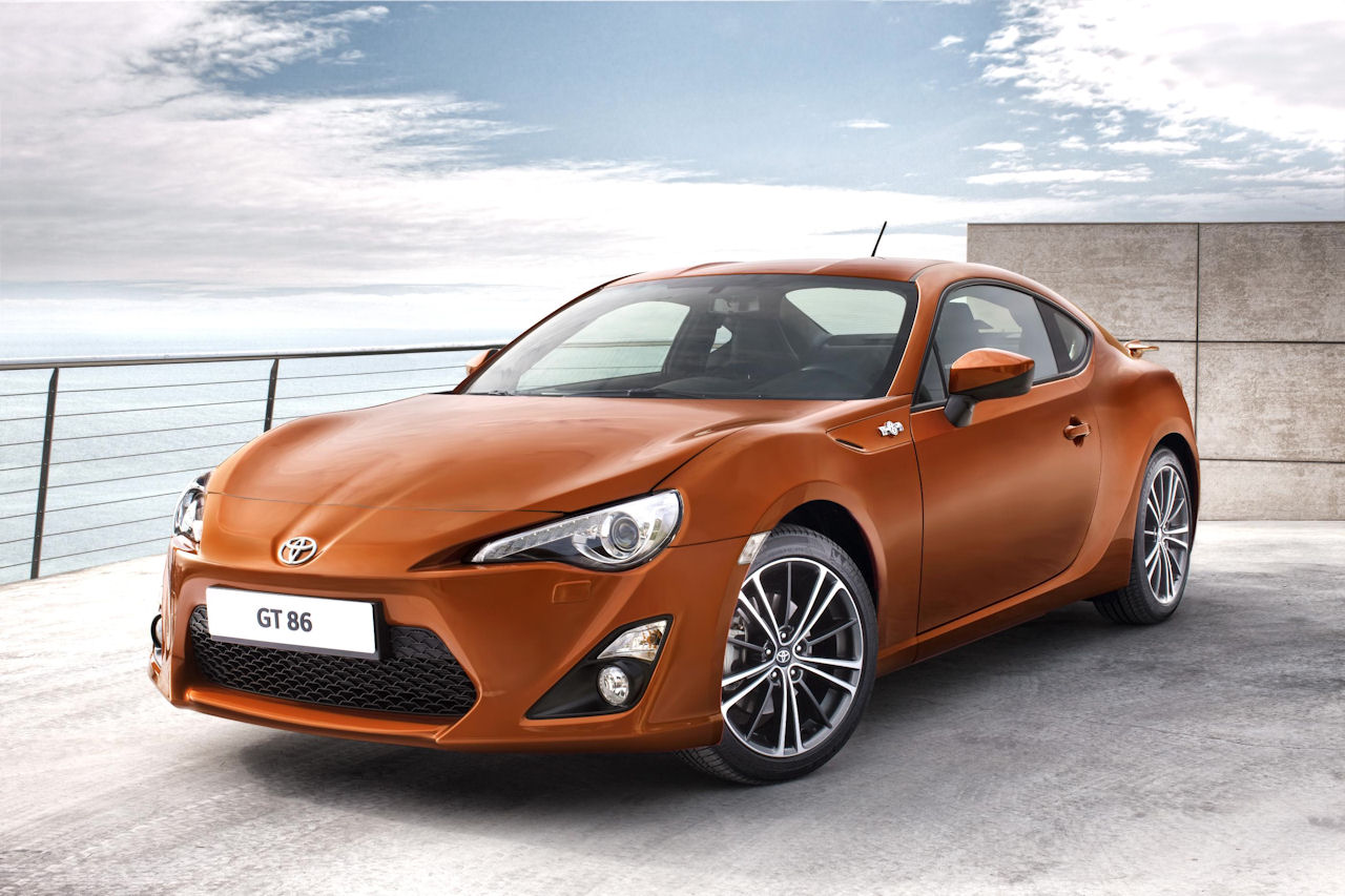 Toyota Officially Reveals 2012 Toyota GT 86 (FT-86) Sports Car w/Videos