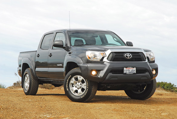2012 Toyota Tacoma V6 Double Cab TRD Off-Road Review & Test Drive