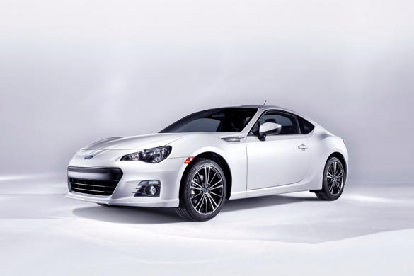 Subaru Reveals The Production BRZ