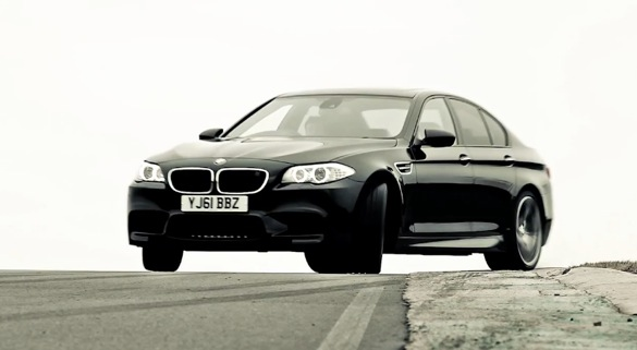 BMW's 2012 M5 In Action