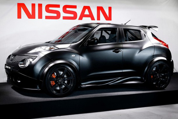 Nissan Juke-R (GT-R tuned Juke crossover) Build Progress videos
