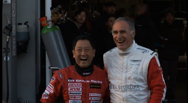 Aston Martin, Toyota CEOs Swap Rides On The 'Ring