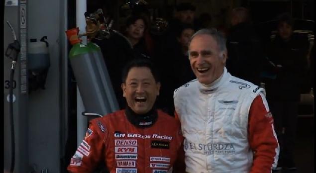 Aston Martin, Toyota CEOs Swap Rides On The 'Ring