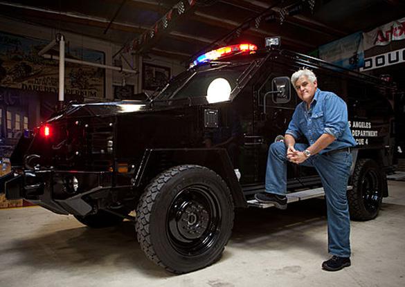 Video: Lenco BearCat LAPD SWAT Vehicle in Jay Leno's Garage