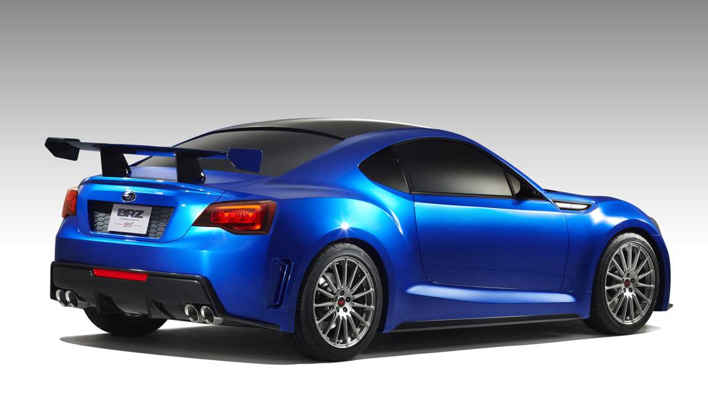 Subaru BRZ STI Concept (Toyota FT-86/Scion FR-S Subaru Variant) Revealed