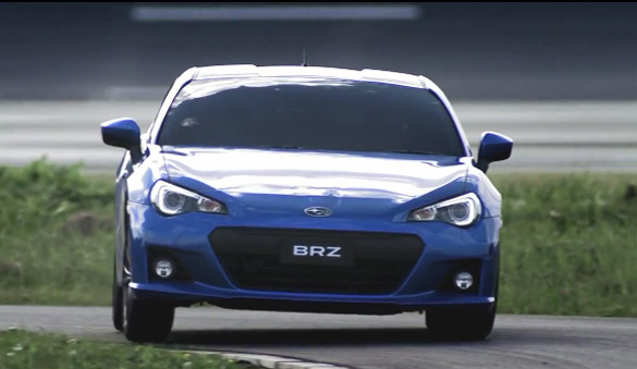 New Subaru BRZ In-Motion Video