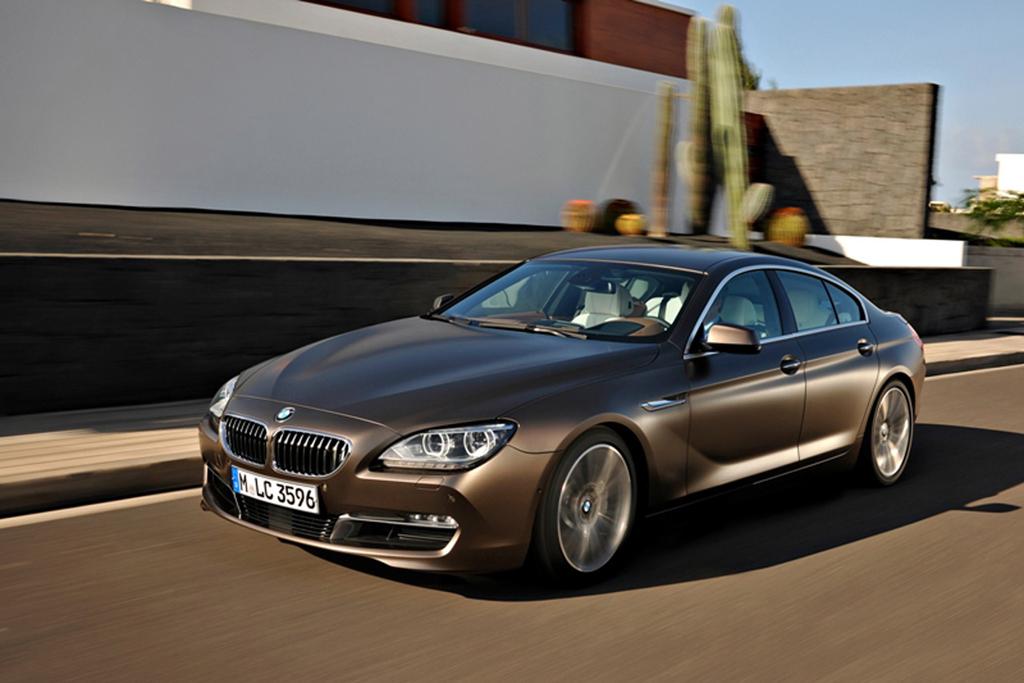 BMW Debuts Series Gran Coupe - 2012 bmw 650i price