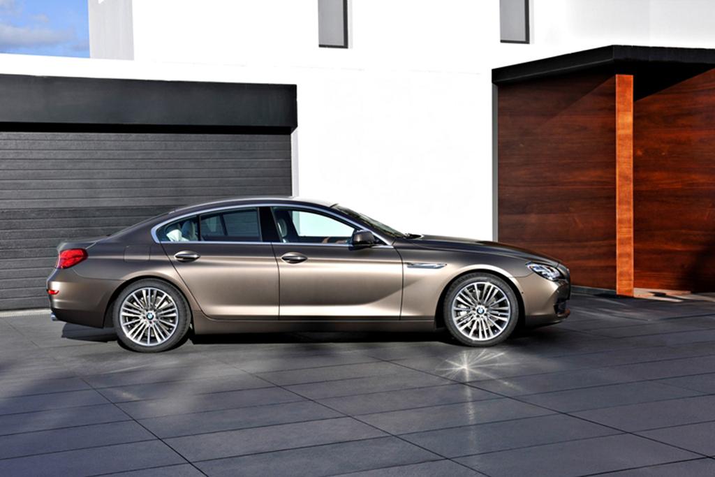 BMW Debuts 2013 6 Series Gran Coupe