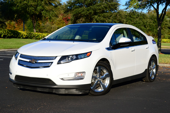 2012 Chevrolet Volt Review & Test Drive