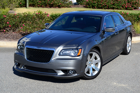 2012 Chrysler 300 SRT8 Review & Test Drive