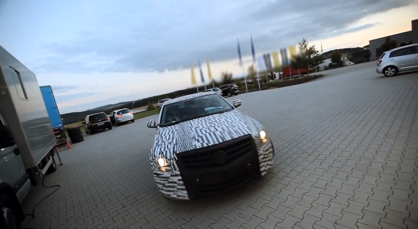 The Cadillac ATS Tackles The Nürburgring Nordschleife: Video