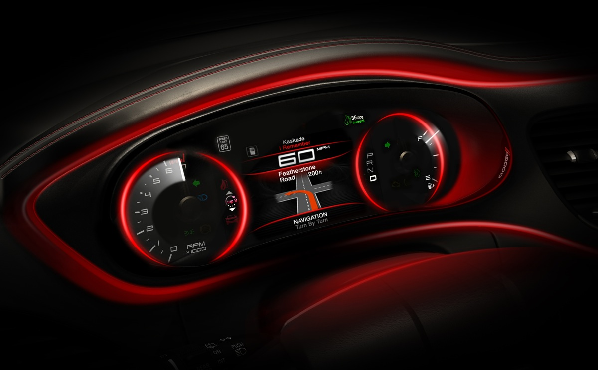 The 2013 Dodge Dart Doesn't Look Like An Entry Level Compact