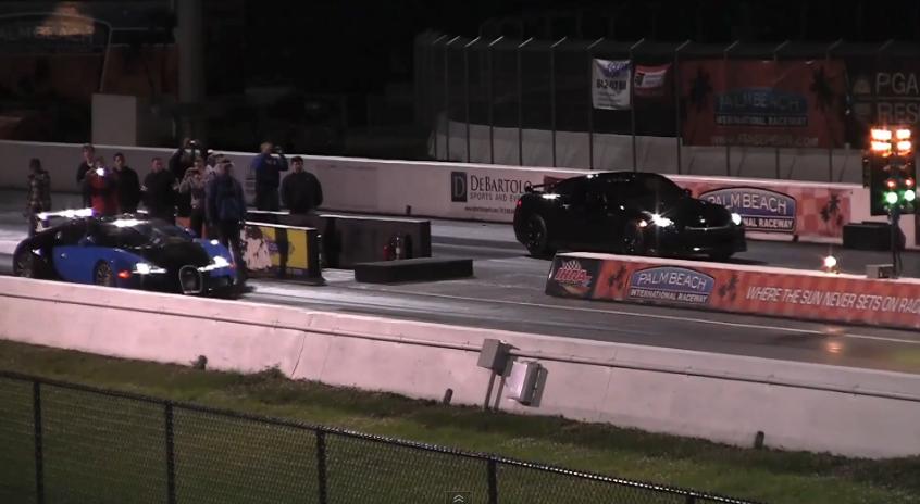 Score That Bugatti Veyron 1, Tuned Nissan GT-R 0
