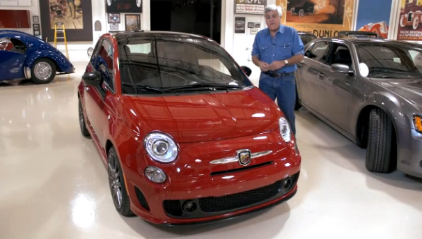 Video: The Fiat 500 Abarth Visits Jay Leno's Garage