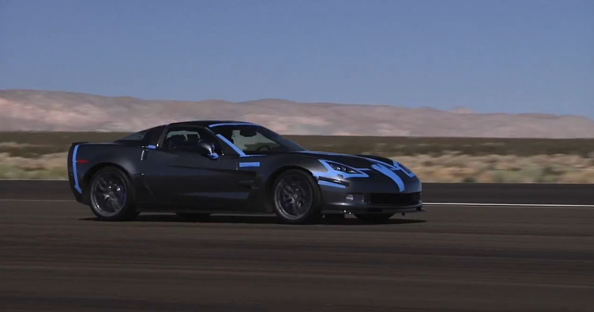 Matt Farah Tests The Top Speed Of The Corvette ZR1: Video