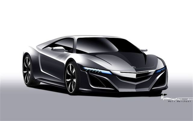 Acura to Debut New NSX at 2012 North American International Auto Show