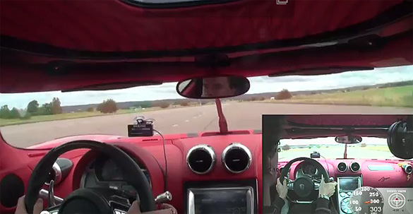 Video: 0-300-0 km/h Guinness World Record Set by Koenigsegg Agera R