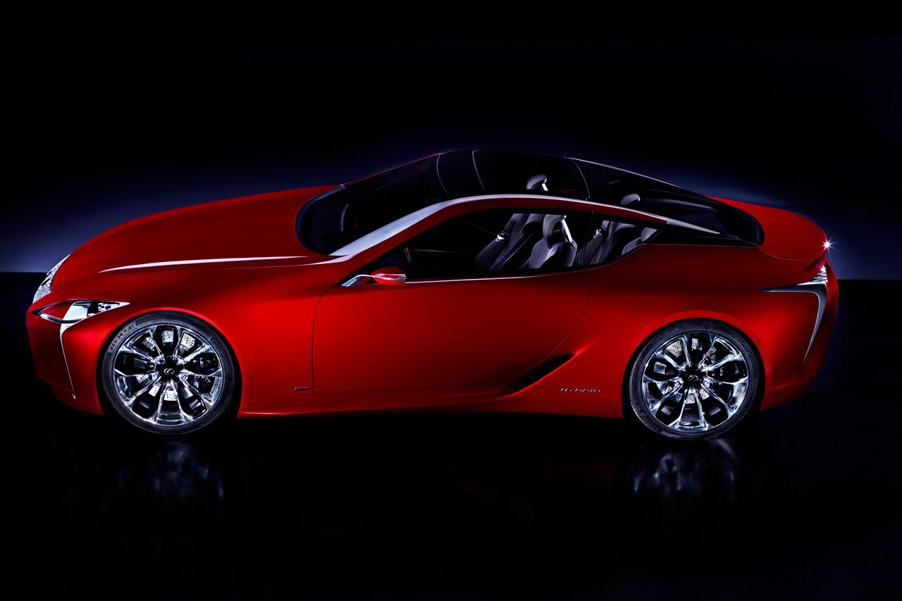 Lexus Reveals Official LF-LC Concept Image