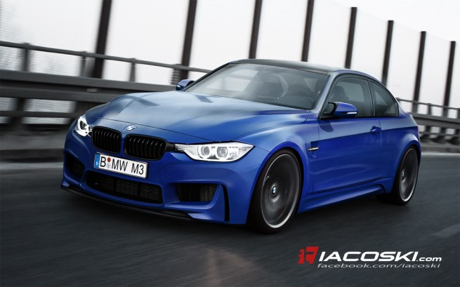 Next Generation BMW M3/M4 Rendered Into Reality