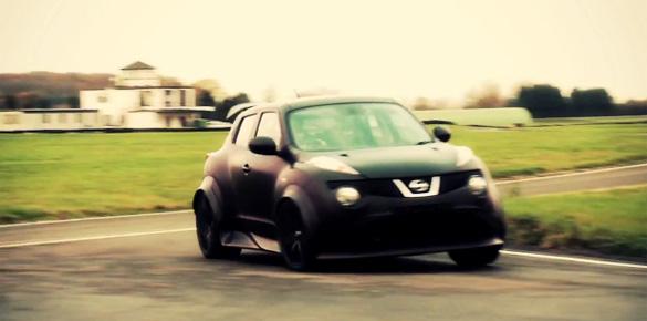 Videos: Nissan Juke-R Shakedown and Testing