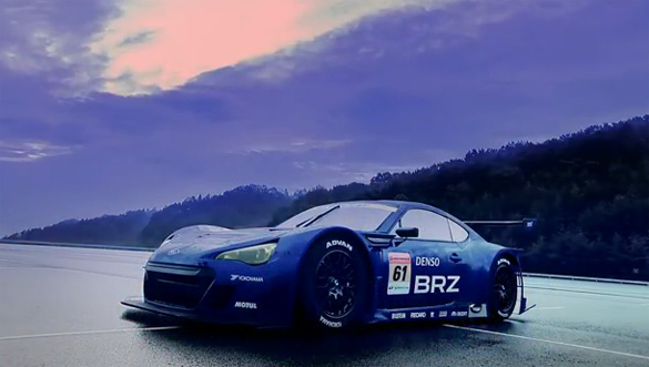 Video: Subaru BRZ GT300 Race Car Hits The Track