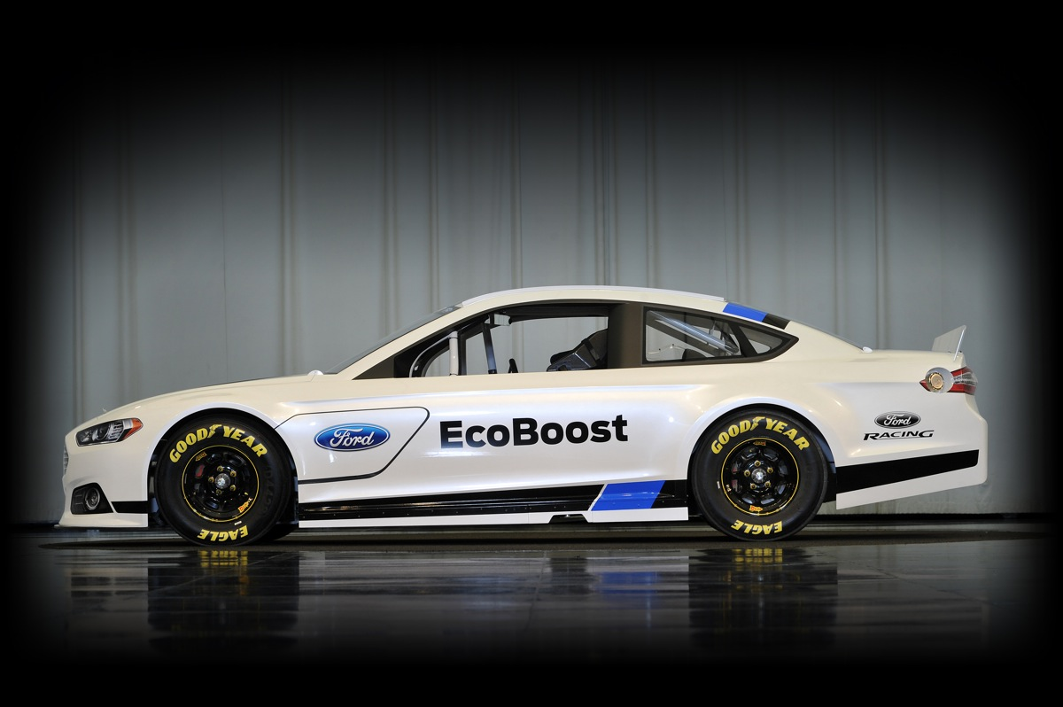 Ford's New NASCAR Fusion May Even Make Us Watch Stock Car Racing