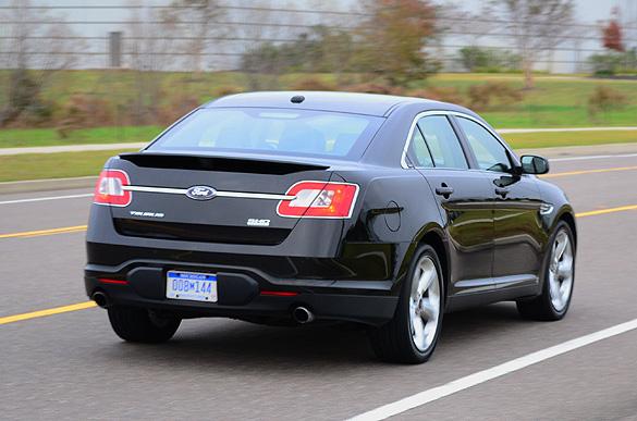 Quick Drive 2011 Ford Taurus Sho