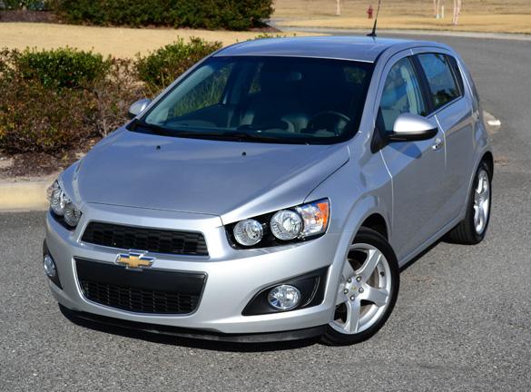 100 Hot Cars » Chevrolet Sonic