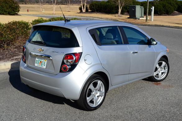 2012 Chevrolet Sonic Ltz 2lz Review Test Drive