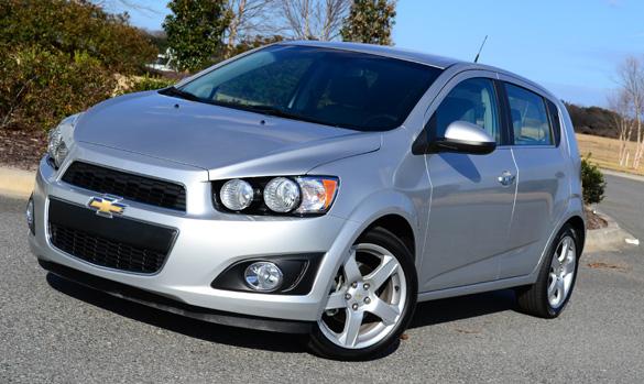 2012 Chevrolet Sonic LTZ (2LZ) Review & Test Drive
