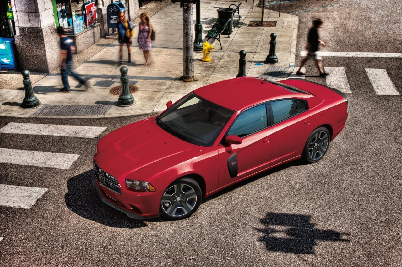 2012 Dodge Charger Redline To Make 590 Horsepower Introduction at Detroit Auto Show