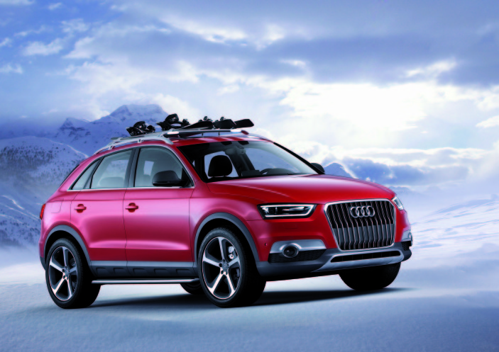 Audi's Q3 Vail Concept Revealed In Detroit