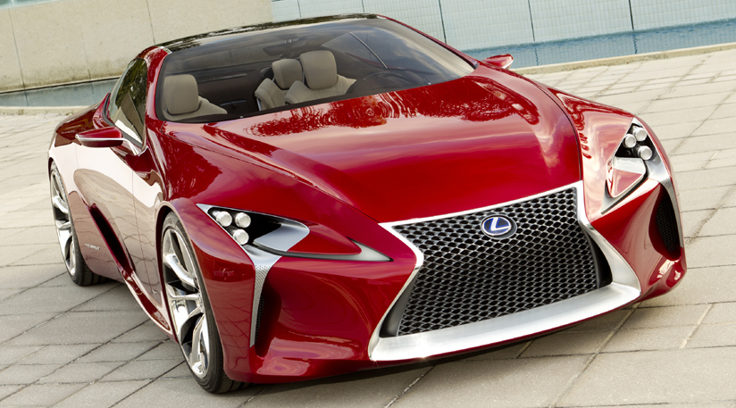 New Official Lexus LF-LC Sports Car Concept Images Revealed Ahead of Detroit Auto Show