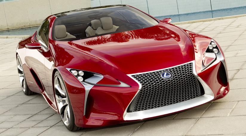 Beau New Official Lexus LF LC Sports Car Concept Images Revealed Ahead Of  Detroit Auto Show