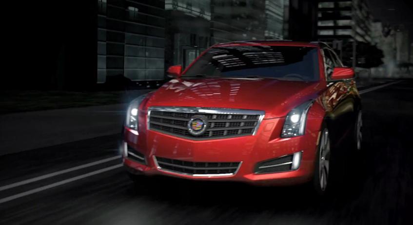 Cadillac (Finally) Shows Off The ATS Sedan: Video