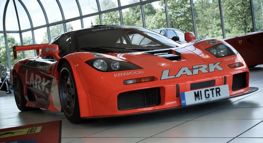 Chris Harris Takes A Ride In A McLaren F1 GTR: Video
