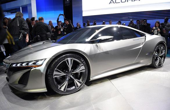 2012 Detroit Auto Show: Acura NSX Concept Debuts