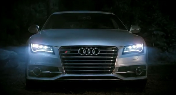 Video: Audi's Vampire Super Bowl Commercial Brings New S7 to the Party