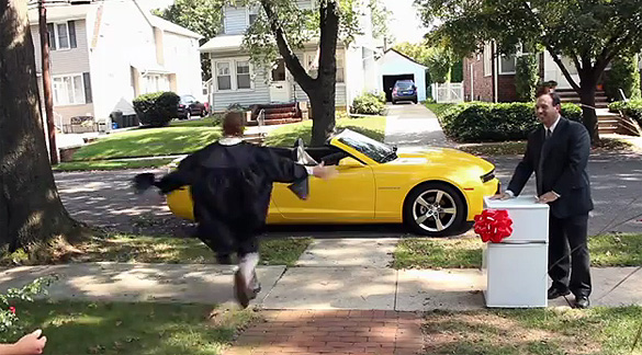 "Chevrolet Kicks Off Early With ""Chevy Happy Grad"" Superbowl XLVI Commercial"