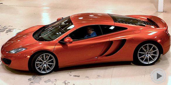Video: Jay Leno Gets Technical Run-down & Delivery of his new McLaren MP4-12C