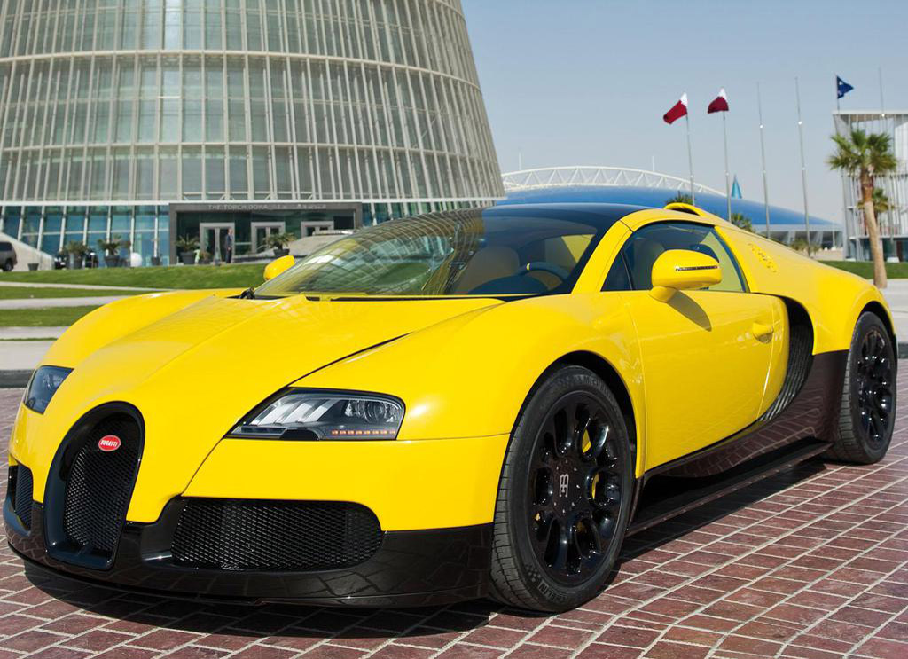 Qatar Motor Show: Bugatti Introducing Custom Veyron Grand Sport Special Edition