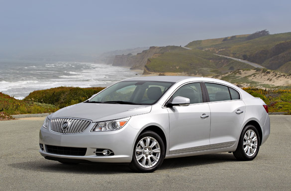 2012 Buick LaCrosse eAssist Review & Test Drive
