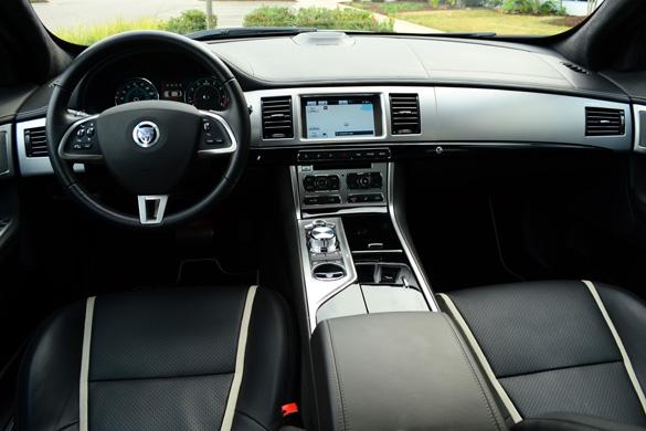 Jaguar XF Supercharged Review Test Drive - 2012 jaguar xfr review