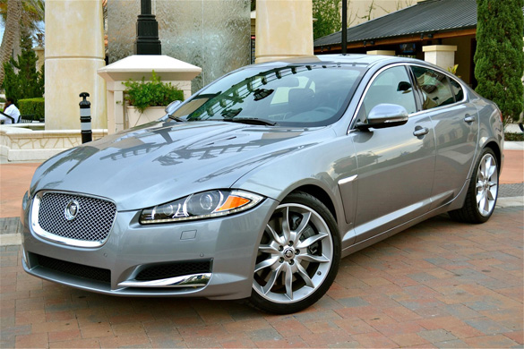 2012 jaguar xf supercharged review test drive. Black Bedroom Furniture Sets. Home Design Ideas