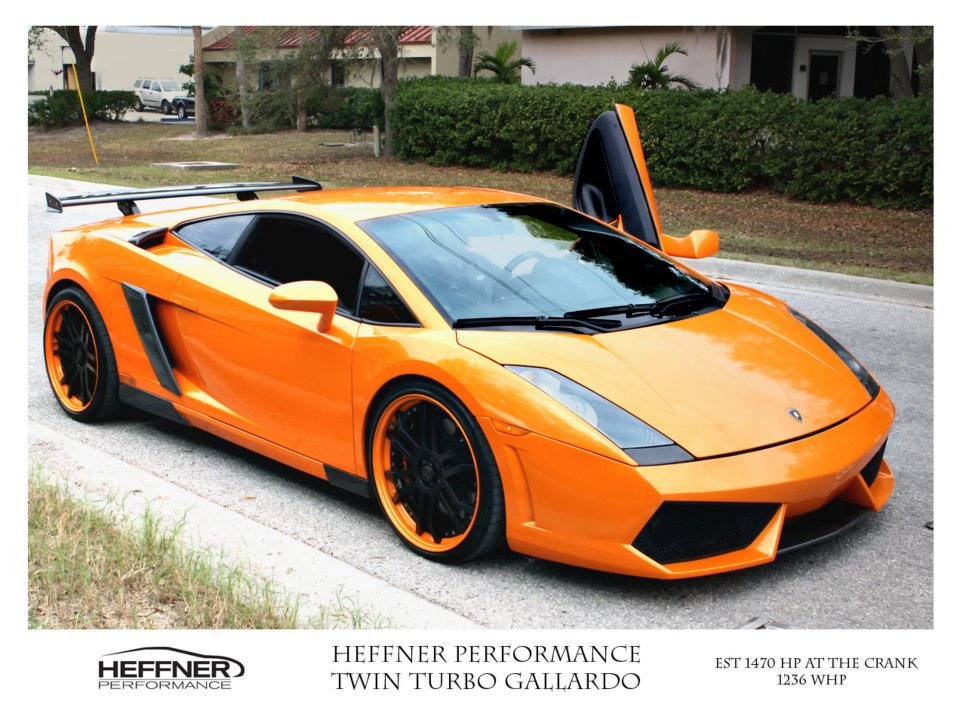 Heffner Performance Twin Turbo Lamborghini Gallardo Reborn w/ 1470 Horsepower
