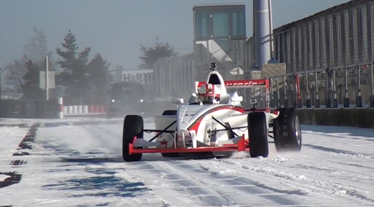 Lapping A Snowy Nürburgring Nordschleife, In A Formula Car: Video