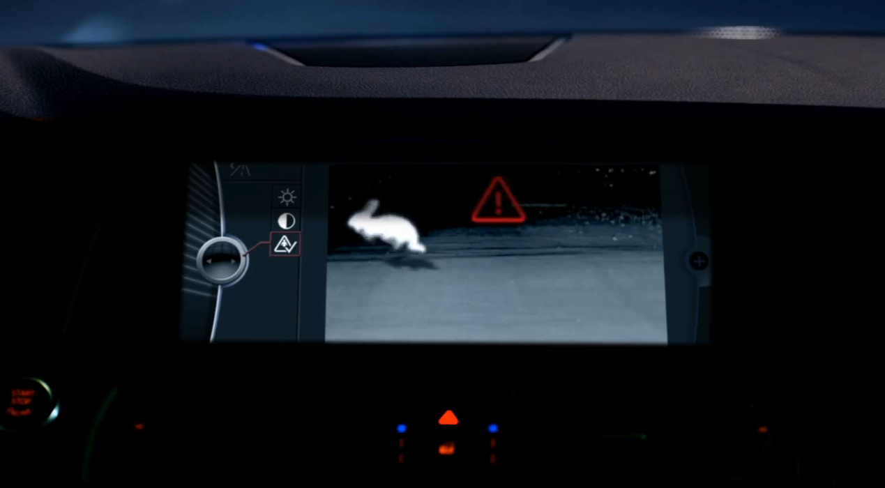 BMW Explains Why Night Vision Is Good: Video