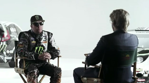 Video: Ken Block Spoofs Himself with Help of Nick Swardson
