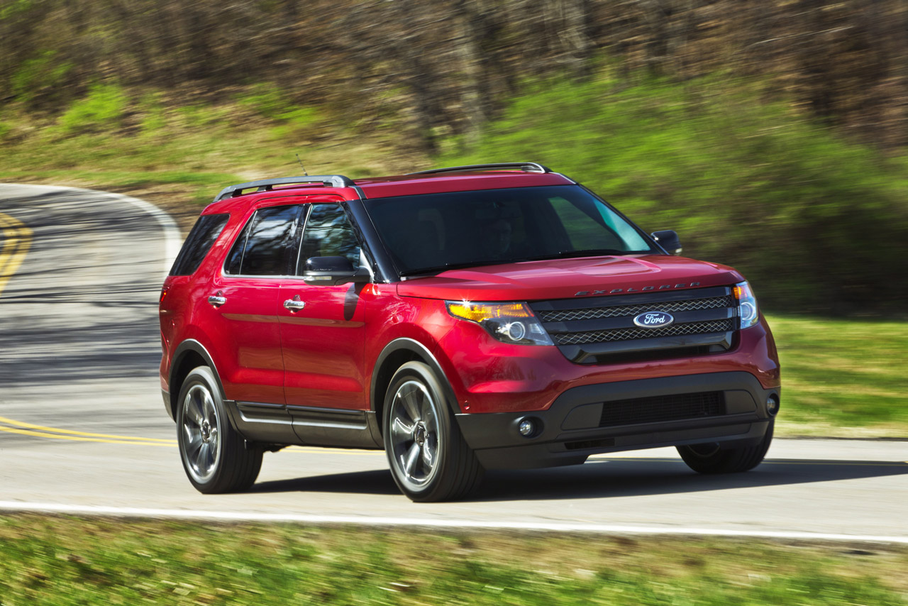2013 Ford Explorer Sport Introduced with 350 Horsepower V6 EcoBoost Engine