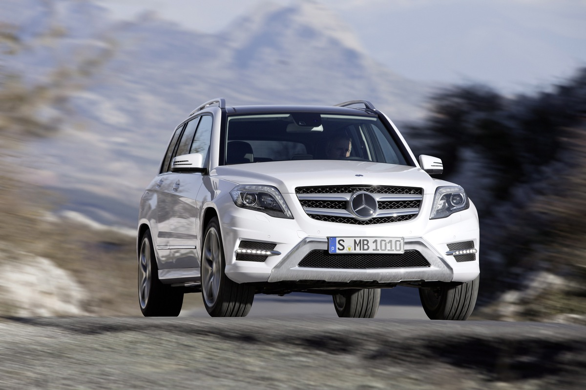Mercedes-Benz Shows Its New GLK Class Ahead Of New York Debut
